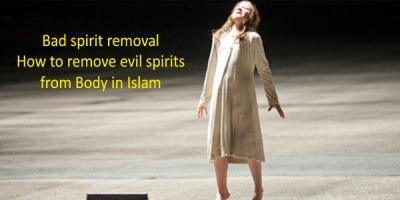 Bad spirit removal