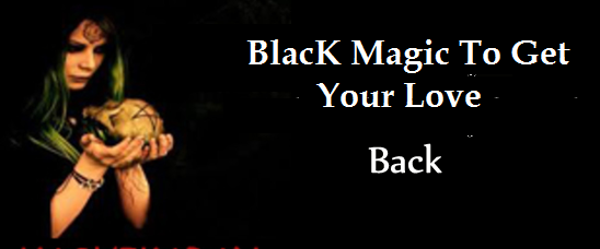 black magic for love