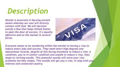 wazifa to success in visa
